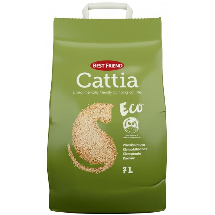 Best Friend Cattia Eco 7l puuhiekka