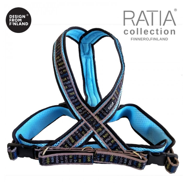 RATIA 8-shape MESH valjas, sininen
