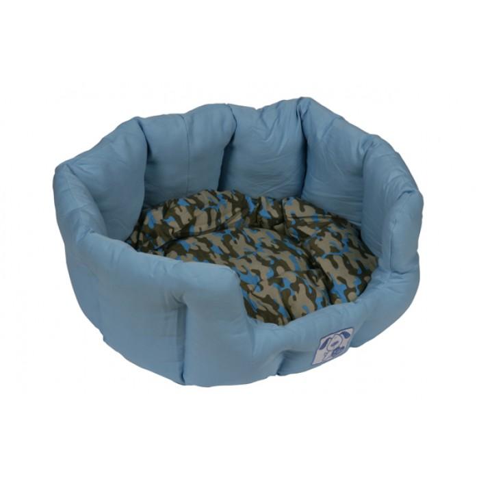 Oval Bed - Sininen