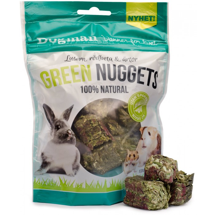 Green Nuggets Natural 120g