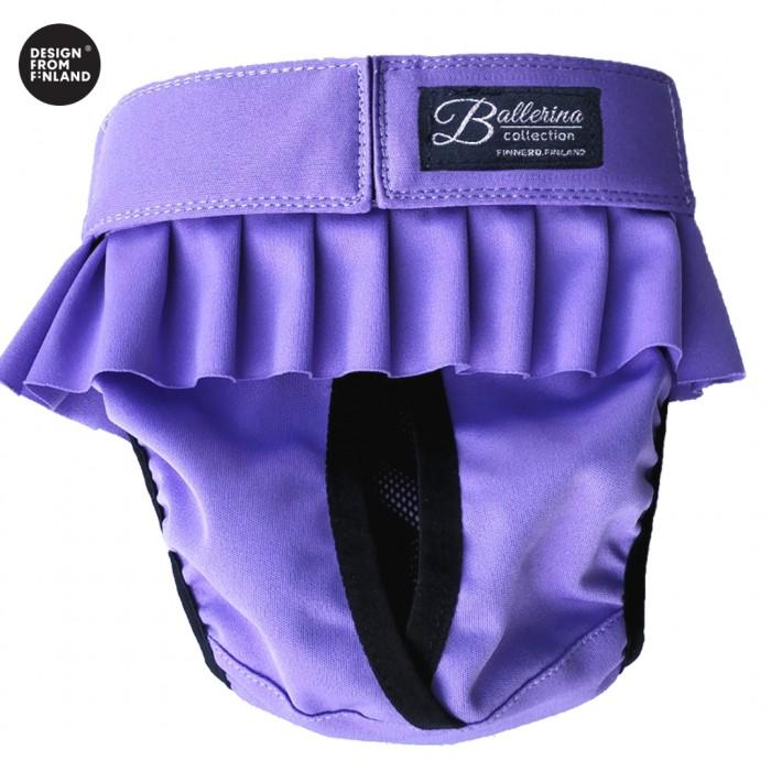 BALLERINA juoksuhousu koiralle, violetti