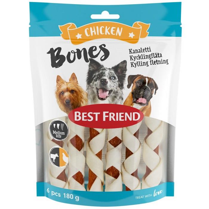 BF Bones kanaletti 12cm 6kpl 180g