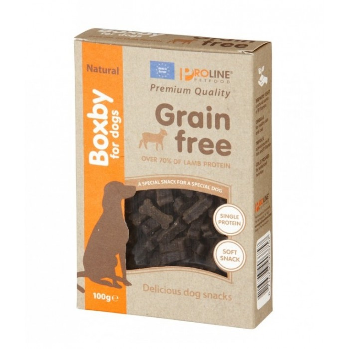Boxby for Dogs Grain Free Lamb 100g