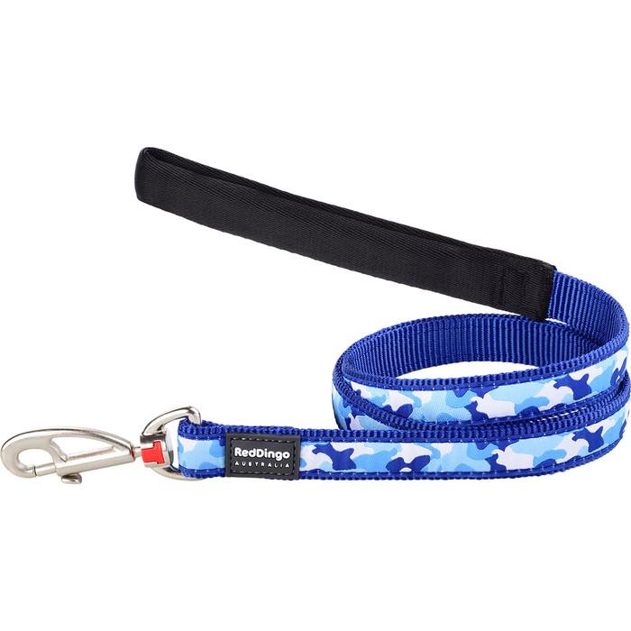Koiran talutin Design - Camouflage Blue
