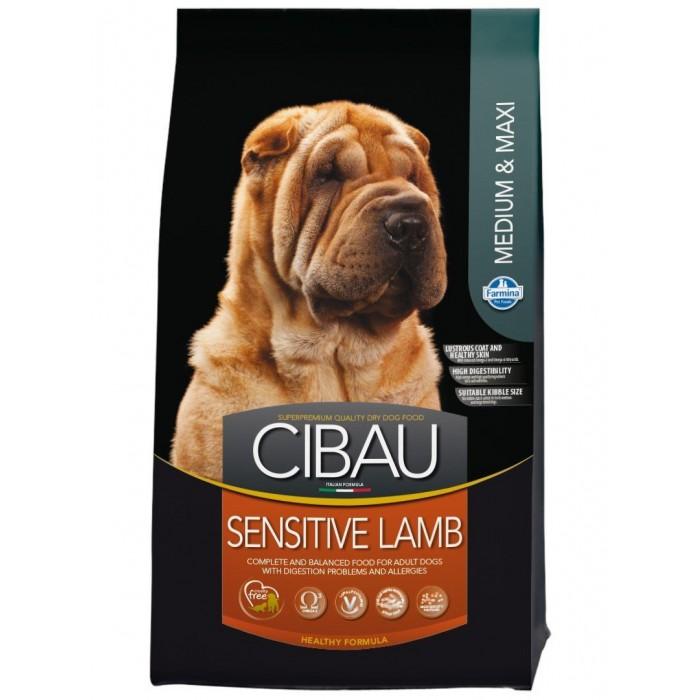 Cibau Sensitive Lamb & Rice Adult koiran lammas-riisi täysravinto