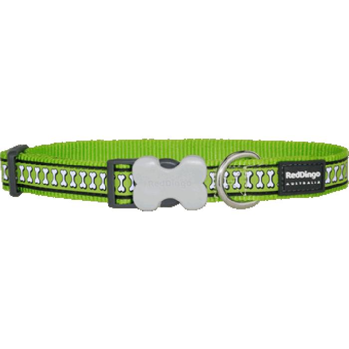Koiran panta Reflective - Limenvihreä