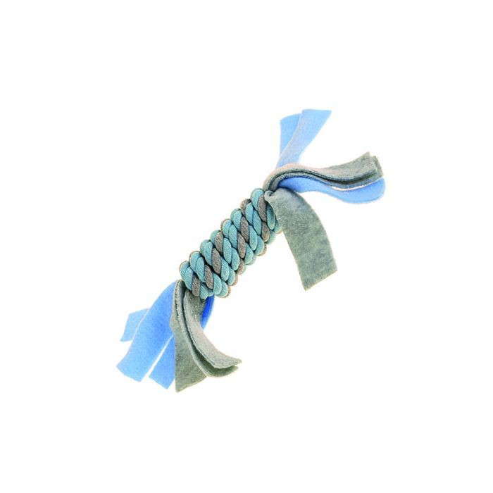 Little Rascals Fleecy Rope Coil Blue
