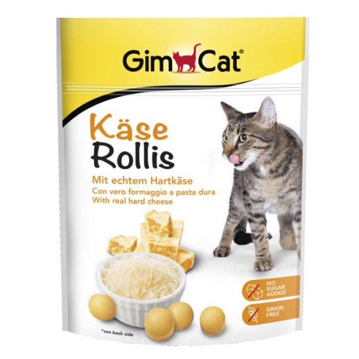 GimCat Cheese Rollies 140g