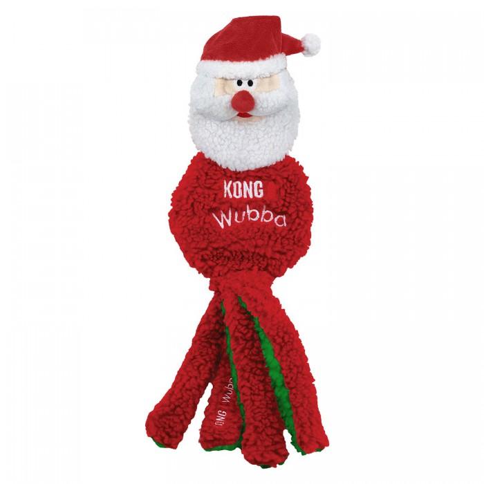 Holiday Wubba Flatz Santa Large