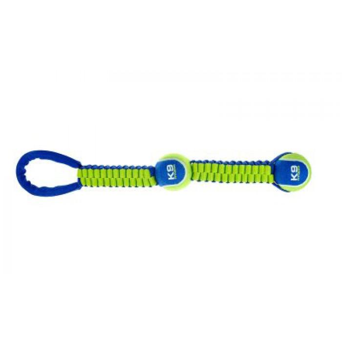 ZS K9 twist-tug vetolelu kahdella pallolla 49cm