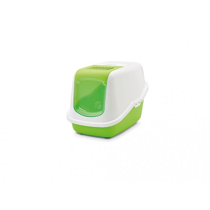 Savic Nestor kissan katettu WC, vihreä 56 x 39 x 38,5cm