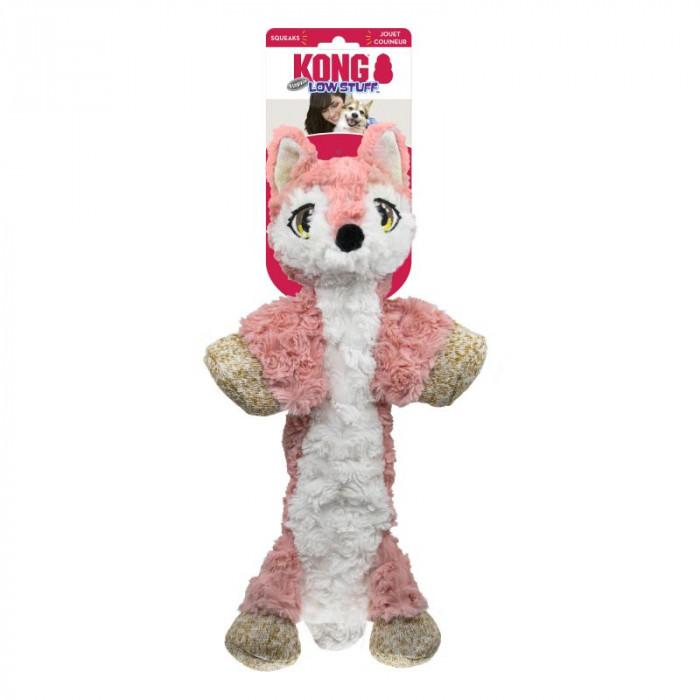 Kong Low Stuff Flopzie Fox koiran lelu 36cm