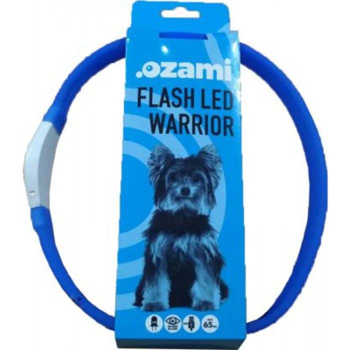 Varrior LED valopanta 60cm/25mm, ladattava/säädettävä, sininen