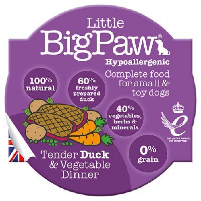 LBP Traditional Duck & Vegetable dinner for dogs 85g