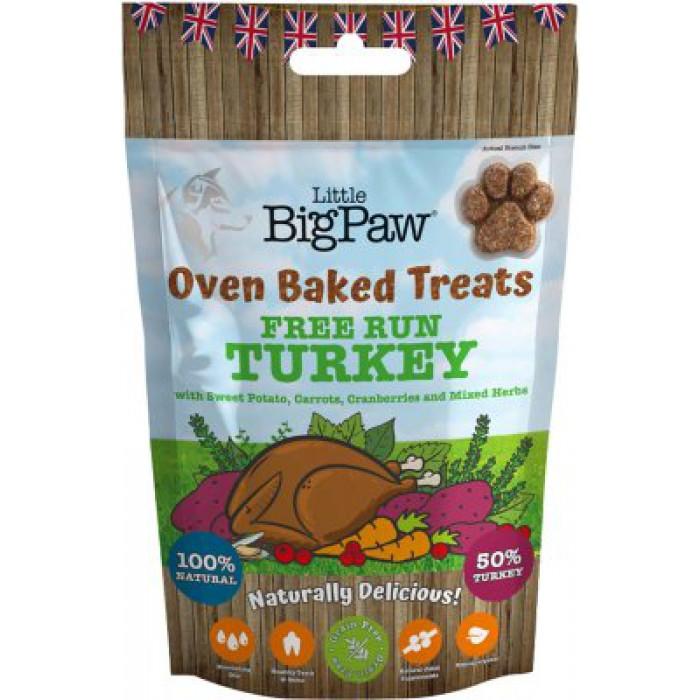 Little BigPaw Free Run Turkey with vegetables 130g
