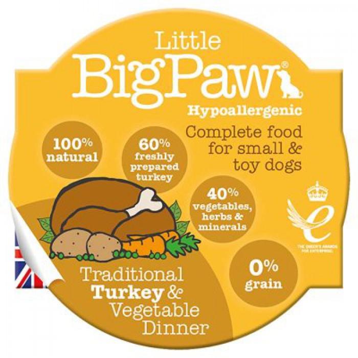 LBP Traditional Turkey & Vegetable dinner for dogs 85g