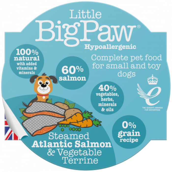LBP Traditional Atlanticsalmon & Vegetable dinner for dogs 85g