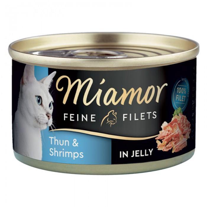 Miamor Feine Tuna & Shrimps (hyytelö)