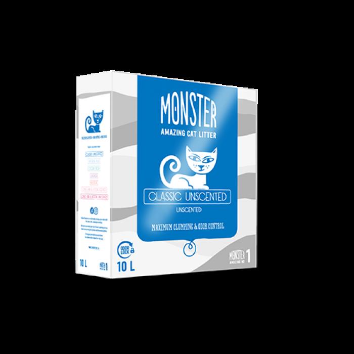 Monster kissan mikrohiekka