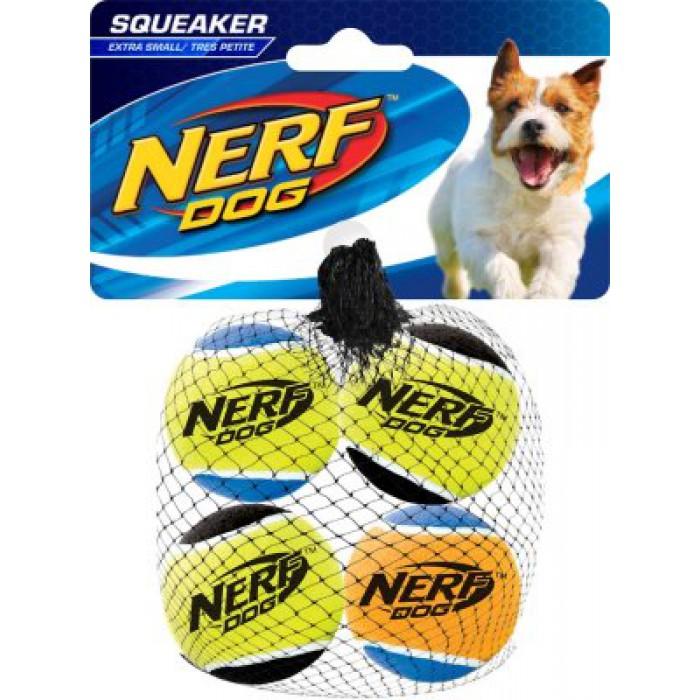 NERF Squeaker tennispallot XS 4kpl
