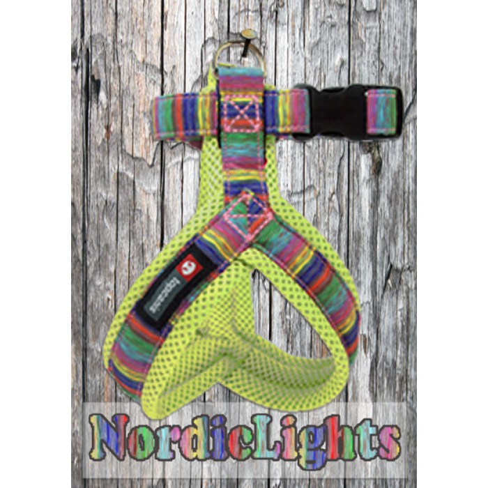 Nordic Lights Mesh Y-valjas, lime