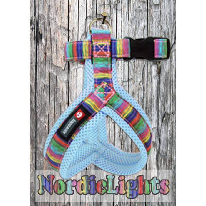 Nordic Lights Mesh Y-valjas, sininen