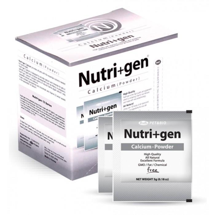 Nutri+Gen Calcium kalkkijauhe 5g x 22kpl