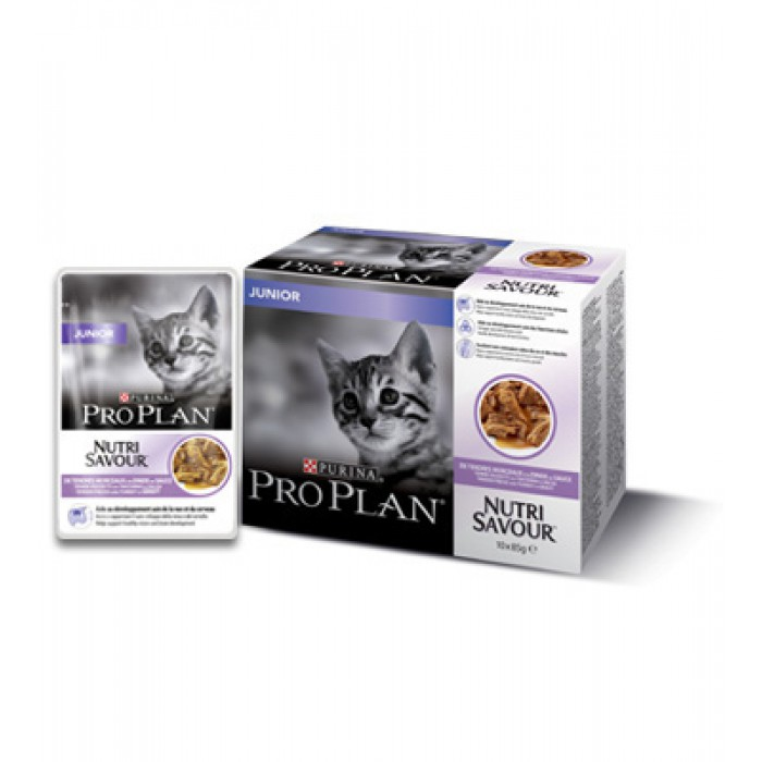 Purina Pro Plan Kitten Turkey 10 x 85g