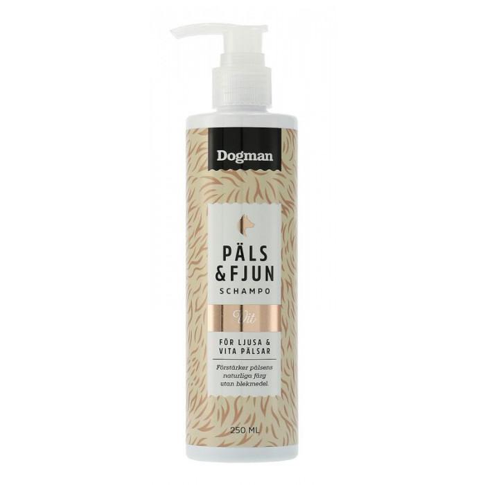 Päls & Fjun Shampoo Vit valkoiselle turkille 250ml