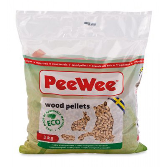PeeWee puupelletti