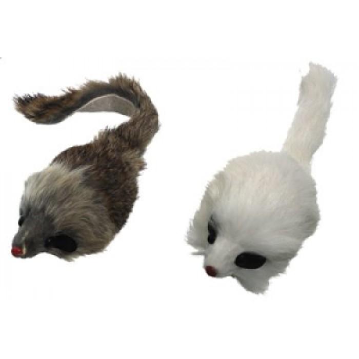 Pitkäkarvahiiri vingulla ja kissanmintulla 12cm