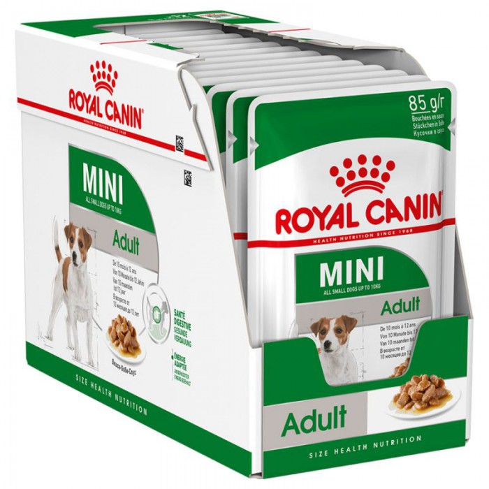 Royal Canin säilykeruoka Mini 1-10kg 12x85g