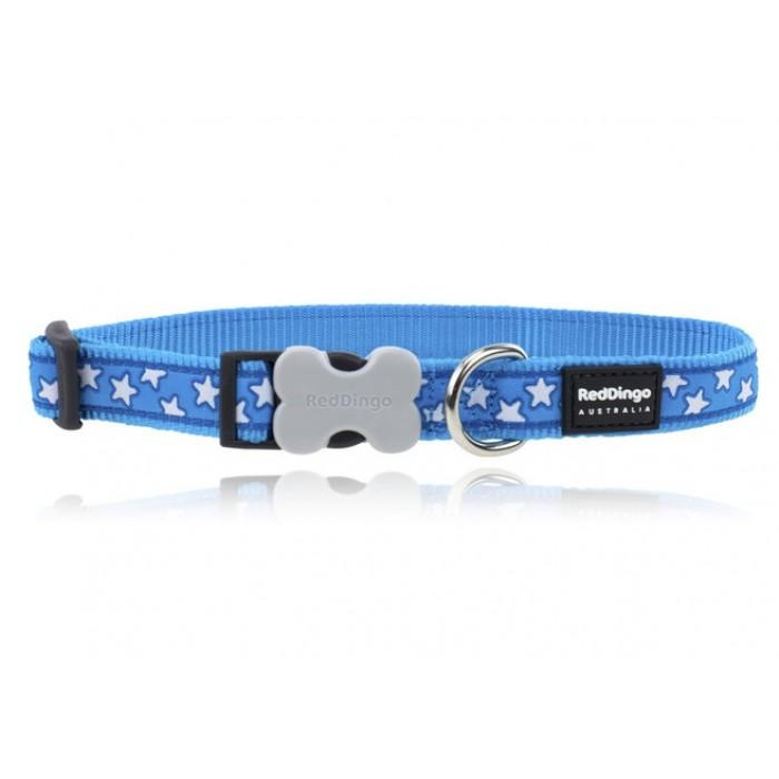 Koiran panta Design - Stars White on Turquoise