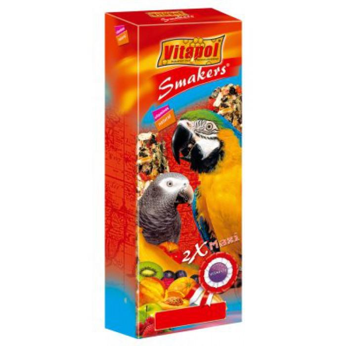 Vitapol Smakers Maxi papukaija hedelmä-mix 450g