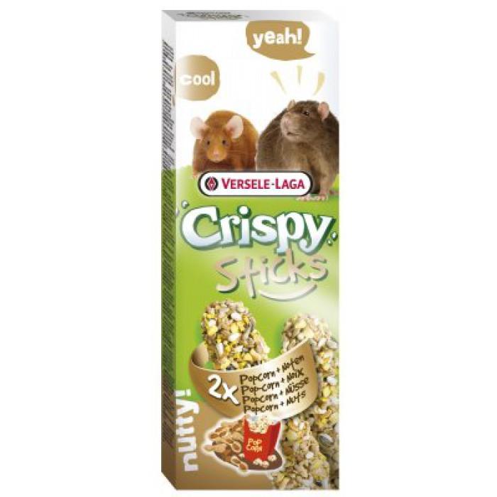 Sticks Crispy popcorn/pähkinä rotille ja hiirille 2kpl (2*55g)