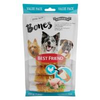 BF Bones 225g 7kpl pururulla kanatäytteellä ja -fileellä
