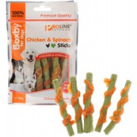 Boxby Chicken & Spinach Sticks 100g