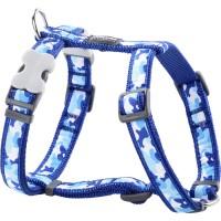 Koiran valjas Design - Camouflage Blue