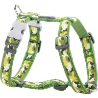 Koiran valjas Design - Camouflage Green