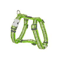 Koiran valjas Reflective - Limenvihreä