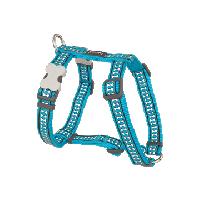 Koiran valjas Reflective - Turkoosi
