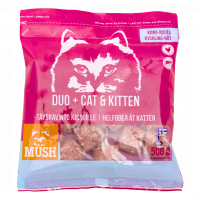 Duo+ Cat & Kitten täysravinto kissoille 500g