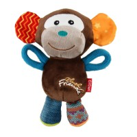GiGwi Plush Friendz Monkey 17cm