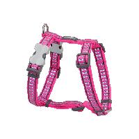 Koiran valjas Reflective, Hot Pink