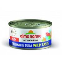Almo Nature Cats Wild Taste Jelly keltaevätonnikala 70g
