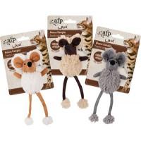 Mouse Dangler lampaankarvalla ja kissanmintulla