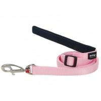 Koiran talutin Classics, vaaleanpunainen