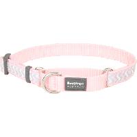 Koiran puolikiristävä panta - Reflective Martingale, vaaleanpunainen