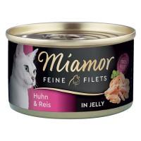 Miamor Feine Chicken Fillet & Rice 100g (hyytelö)