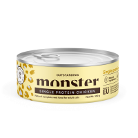 Monster Single Protein kissan purkkiruoka with Chicken 100g